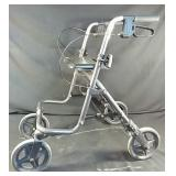 Evolution walker with both working brakes