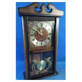 Old fully functioning wall clock with