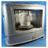 Antique Facetta gasoline portable heater uses