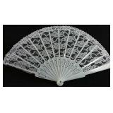 Antique personal hand fan