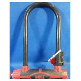 Bell brand bicycle lock with 2 working keys