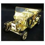 1910 mini Gold Ford Model T Die Cast Car