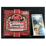 Year 2000 Canadian Trivia board game and deluxe