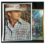 Alan Jackson poster and framed picture 26x24