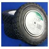 4 as new Lawnmower tires