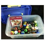 large lot of Marbles - all sizes