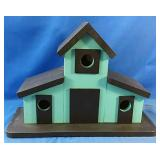 "handmade Wooden/painted birdhouse  20"" x 8"" x 14"""