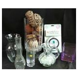 New candle warmer, assorted home decor glass