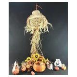 Various Halloween decorations