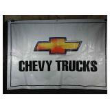 48x68 inch Chevy Trucks banner