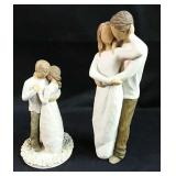 Set of 2 Willow Tree collectables Promise and