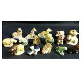 16 Red Rose tea WADE animal figurines - no
