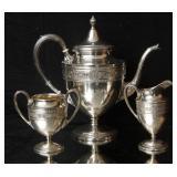 International Wedgwood sterling 4 pc tea set 1836g