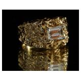 14kt Gold and 1.06 ct  diamond ring