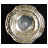 Antique Sterling silver openwork pedestal bowl