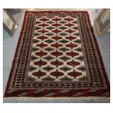 Semi-Antique Turkoman Carpet