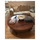 Heavy Wood Coffee Table