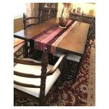 "Younger furniture ""Toledo Range"" dining room table"