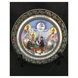"""Royal Worcester """"Christmas Tales"""" Plate"""