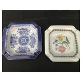 Lot of 2 Spode Ashtrays