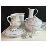 Lot of White Porcelain