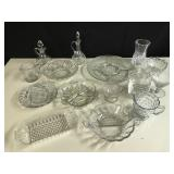 Lot of Clear Glass