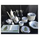 Mixed Lot of Nikko & Spode Christmas Dishes