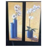 Pair of Framed Floral Prints