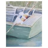 Boat Print on Canvas
