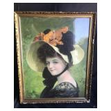 Framed Victorian Lithograph 2