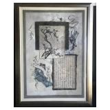 Framed Asian Print