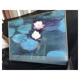 Framed Monet Print - Broken Frame