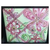 Pin Board - Pink and Green