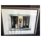 """Framed Print - """"Le Monde Des Chimeres"""""""