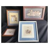Lot of Small Wall Art