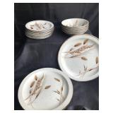 Mixed set Stonehenge Mixed Winter Wild Oats Dishes
