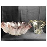 Lot of 2 Glass Pieces