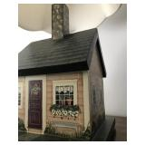 Hand Painted House Lamp