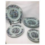 Adams Calyx Ware Saraband plates