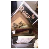 Tub of assorted frames