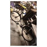 Rusty vintage bike. Monark