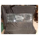 """Etched glass 40"""" long 13 in a 1/2 inches wide"""