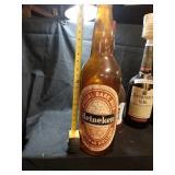 """Plastic beer bottles 24"""" tall"""