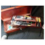 Tool box  With chains  Change And sandpaper