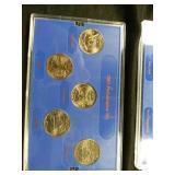 1999 Philadelphia coin set 2000 Philadelphia coin