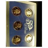 2000 San Francisco mint proof quarters 2002 San