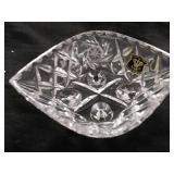 Golden Crown glassware jewelry box