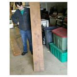 Oak mantel around 6 ft.