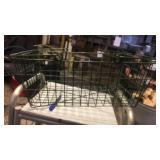 Green wire egg basket