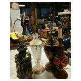 Crystal lamp and other lamps